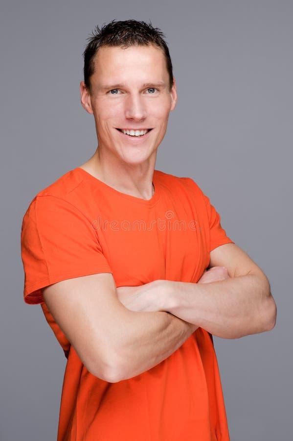 Homem novo foto de stock