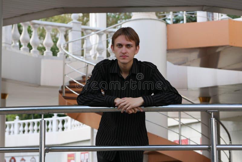 Homem novo fotografia de stock