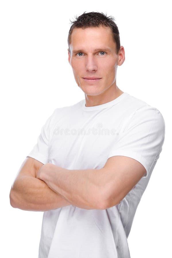 Homem novo imagem de stock royalty free