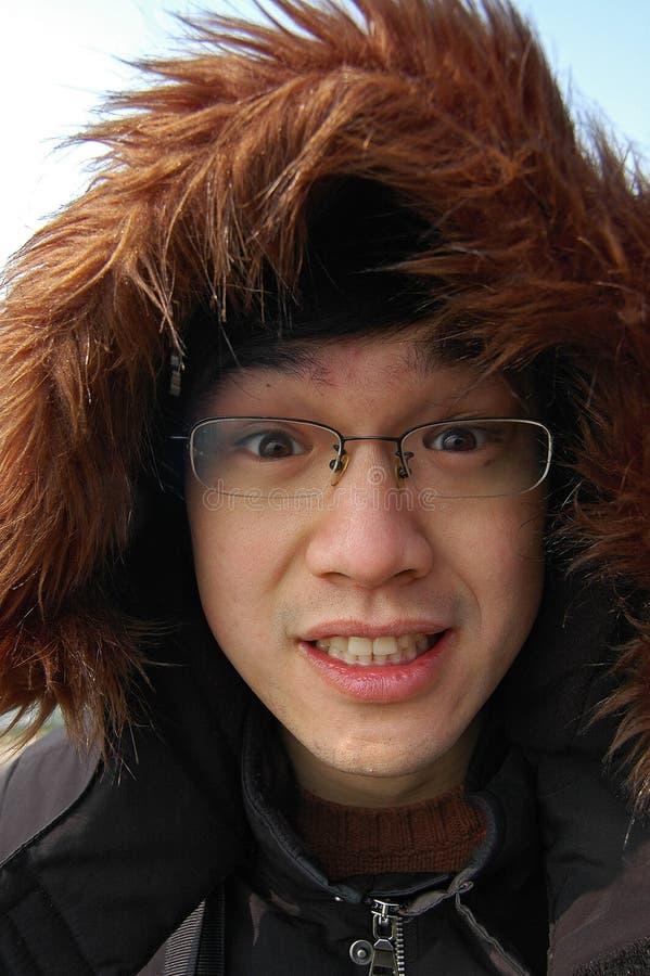 Download Homem novo asiático imagem de stock. Imagem de pele, chinês - 12805249