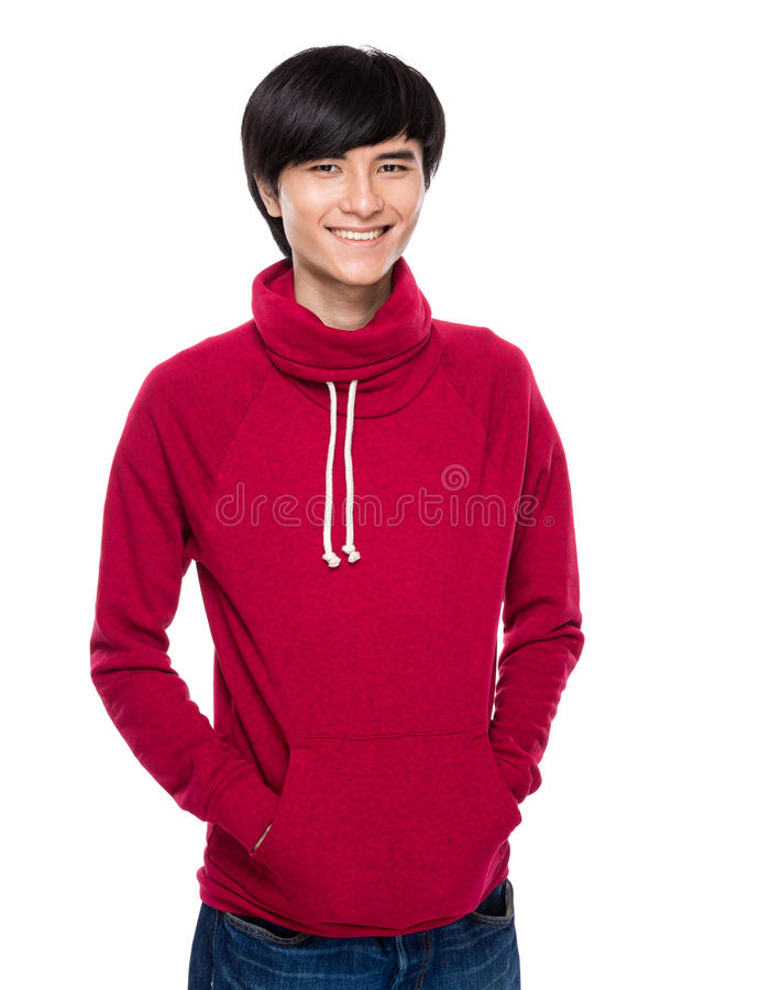 Homem novo asiático fotos de stock