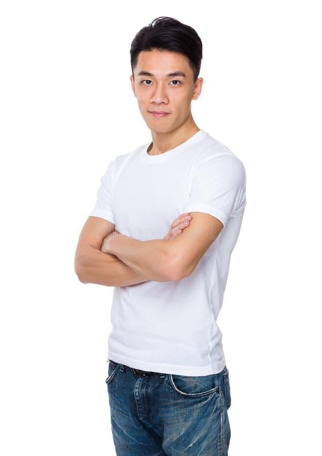 Homem novo asiático imagens de stock