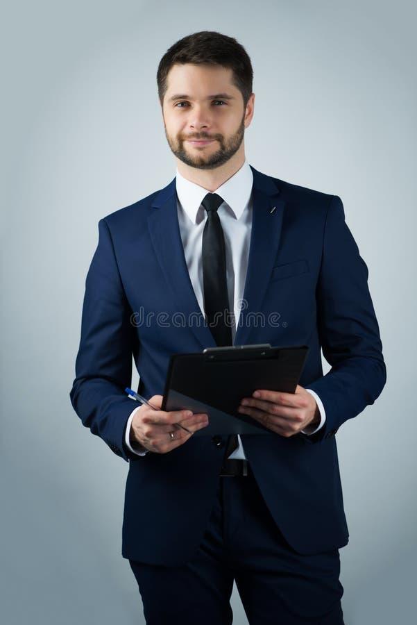 Homem novo considerável imagem de stock