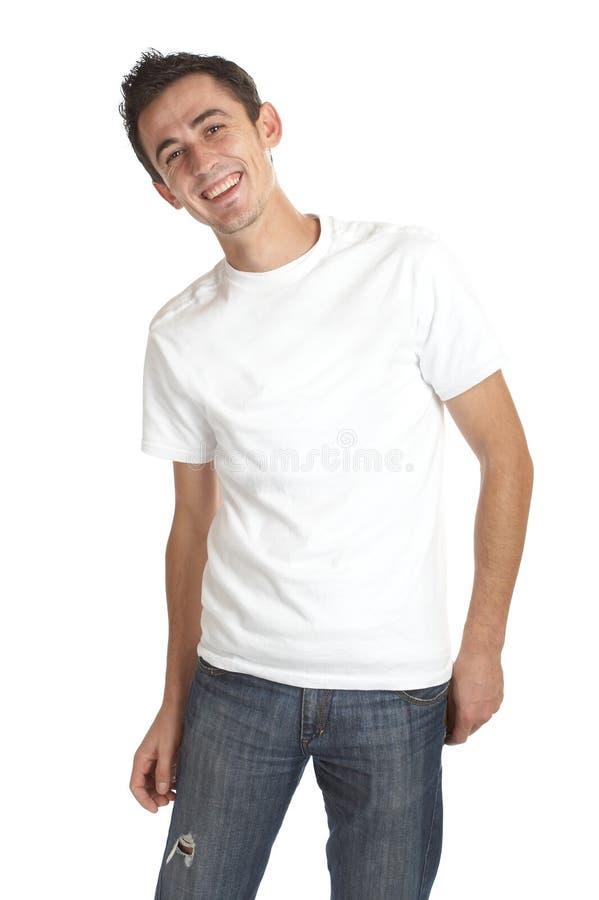 Homem novo de sorriso imagem de stock royalty free
