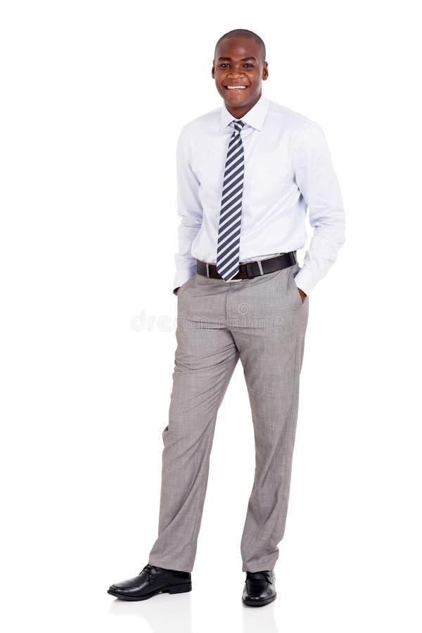 Homem novo do americano africano foto de stock royalty free