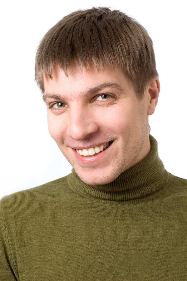 Homem novo feliz imagens de stock royalty free