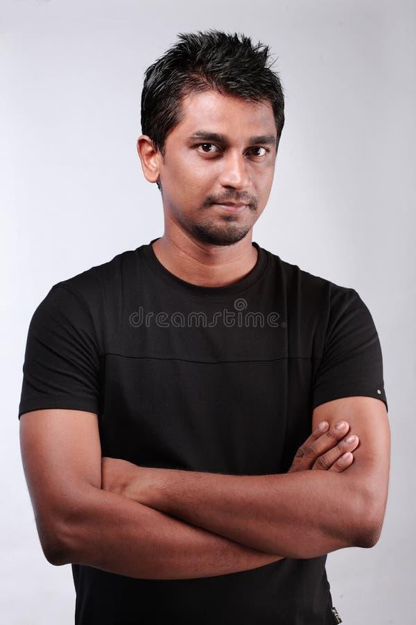 Homem novo indiano imagens de stock