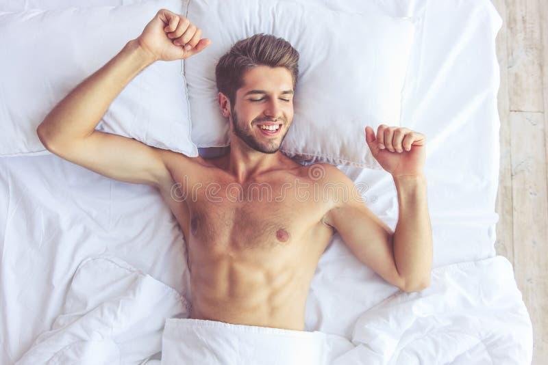 Homem novo 'sexy' fotos de stock