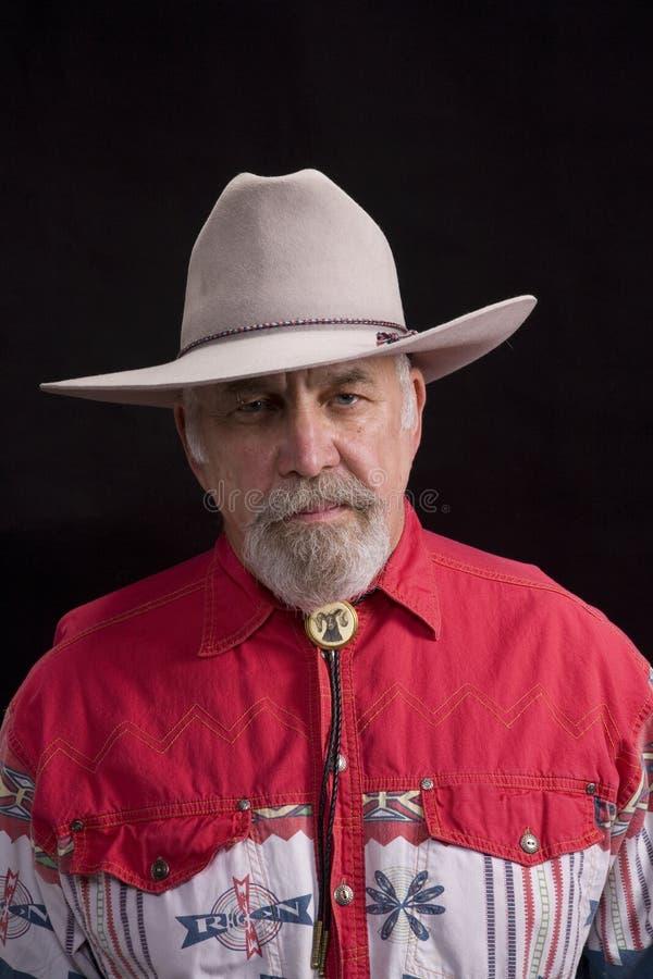 Homem ocidental foto de stock