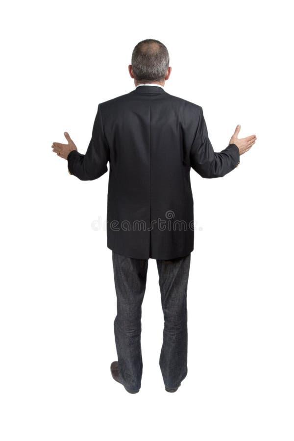 Homem perdido foto de stock