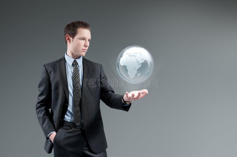 Conceito futurista da tecnologia. fotos de stock royalty free