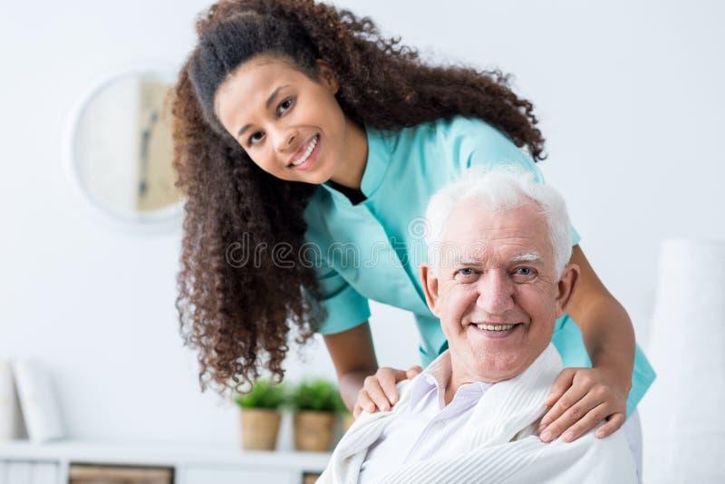 Homem que tem o cuidado privado foto de stock royalty free