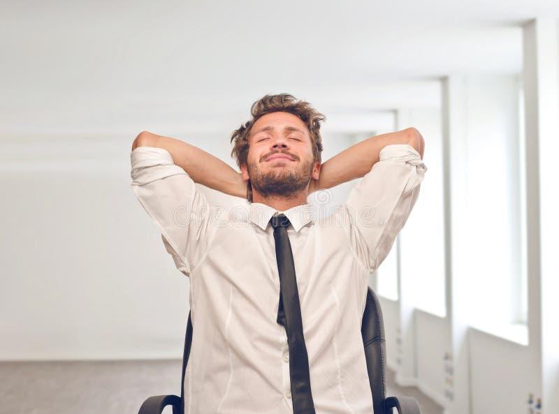 Homem relaxado imagens de stock royalty free