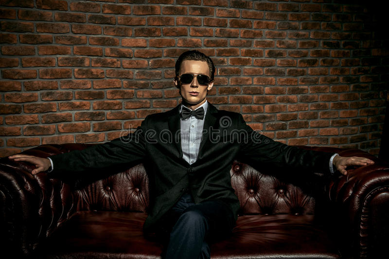 Homem rico foto de stock royalty free
