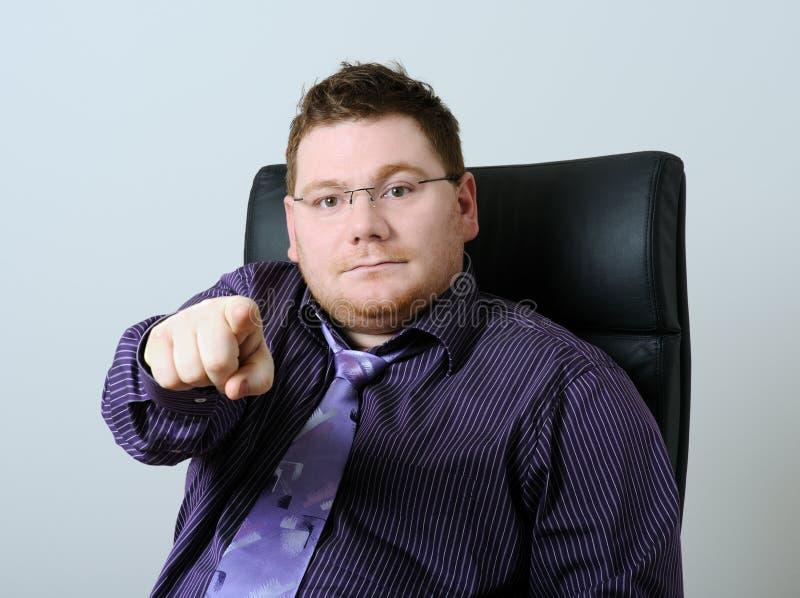 Download Homem sério imagem de stock. Imagem de negócio, se, businessman - 12811367