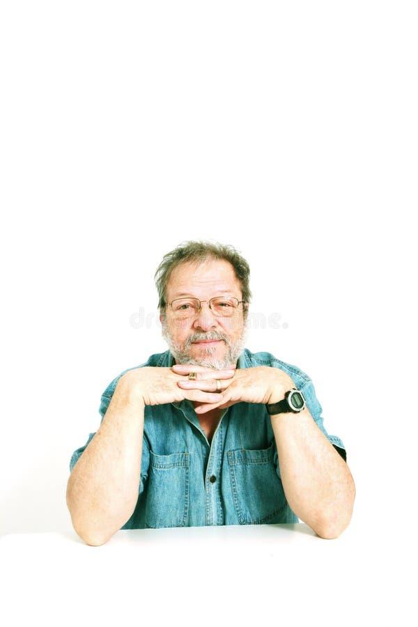 Homem sênior fotografia de stock