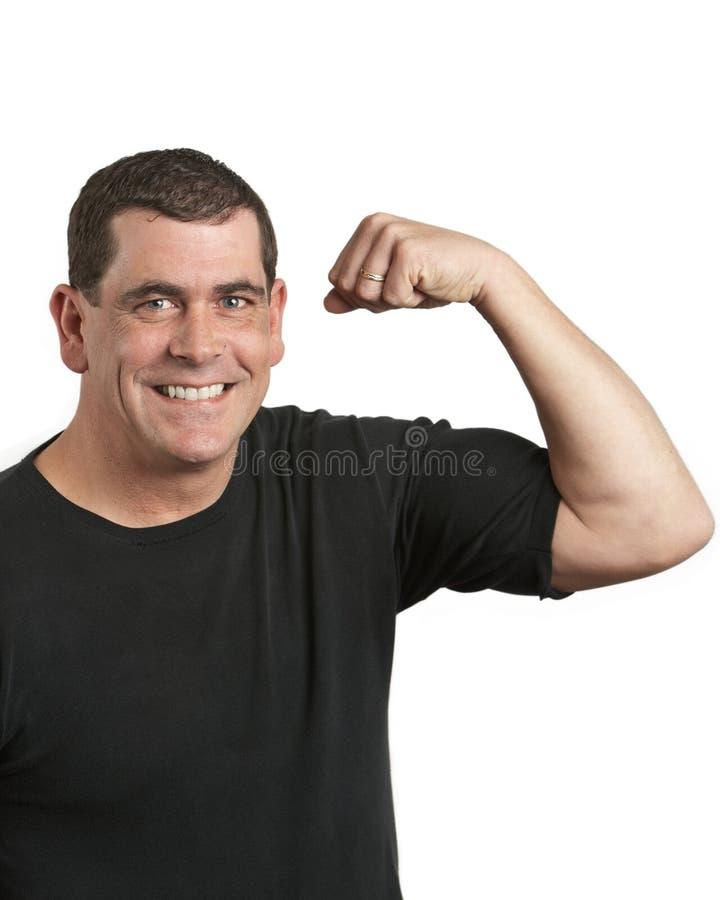Homem saudável imagem de stock