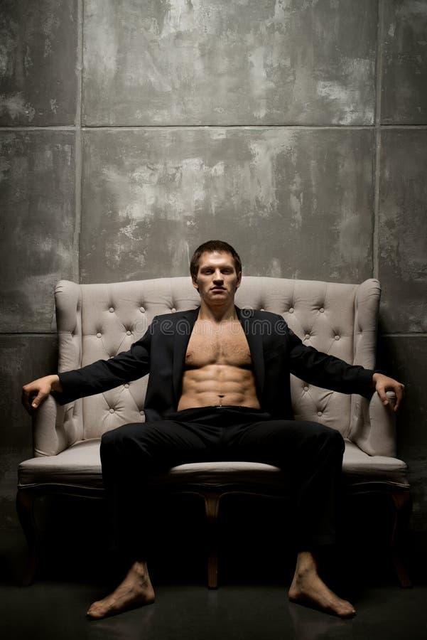 Homem 'sexy' imagens de stock royalty free