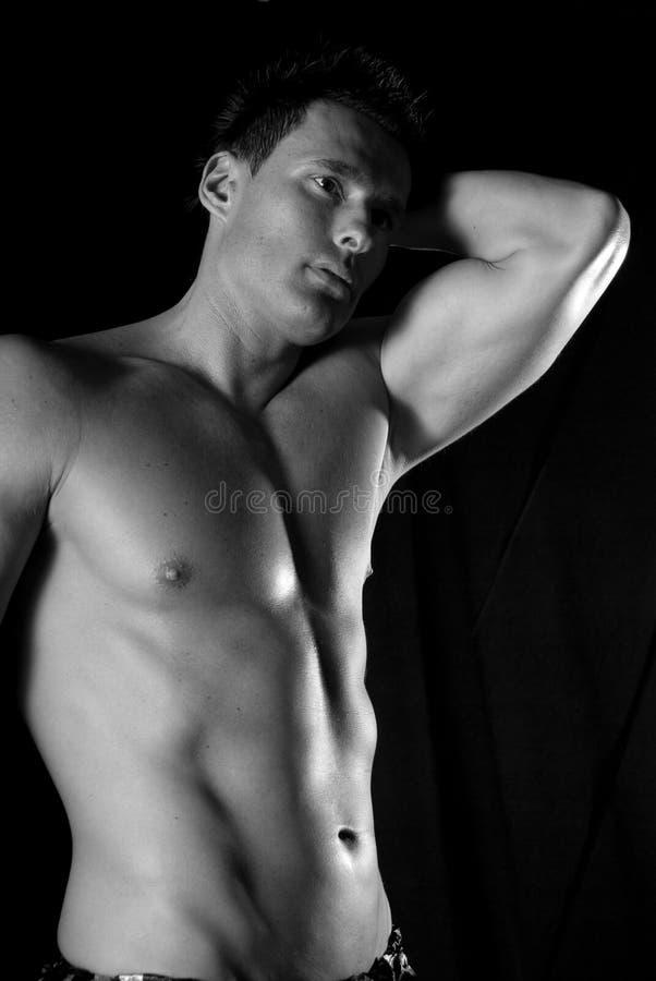 Homem 'sexy'. fotografia de stock