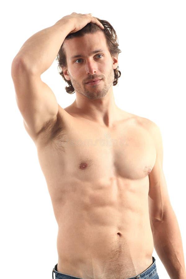 Homem 'sexy' despido novo imagens de stock