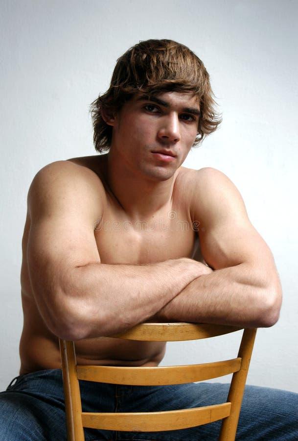 Homem 'sexy' novo imagens de stock royalty free