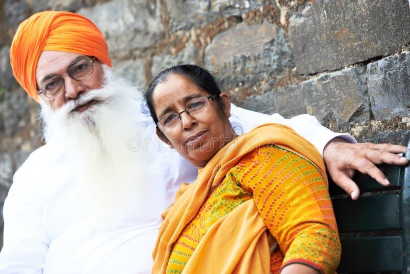 Homem sikh indiano adulto fotografia de stock royalty free
