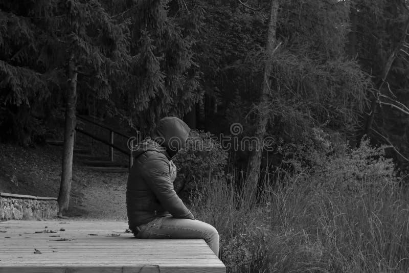 Homem sozinho foto de stock royalty free