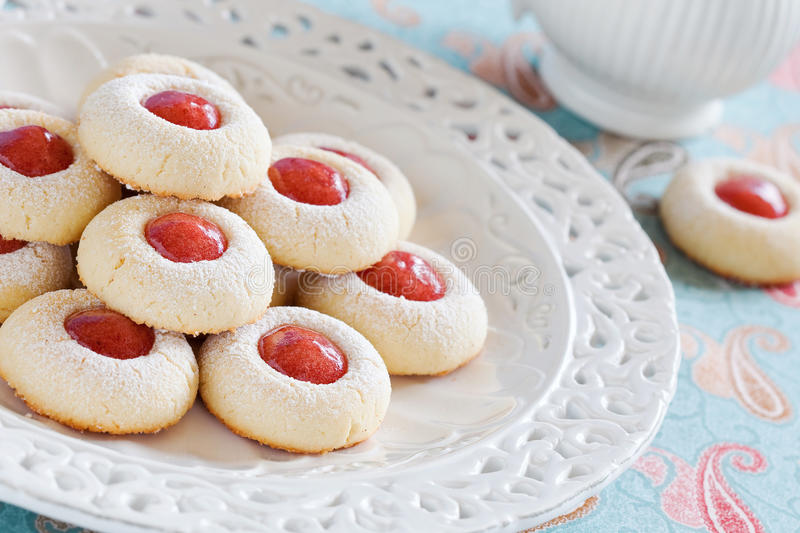 Download Homemade almond cookies stock image. Image of preserves - 27907023