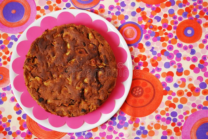 Download Homemade apple cake stock image. Image of plate, apple - 24683391