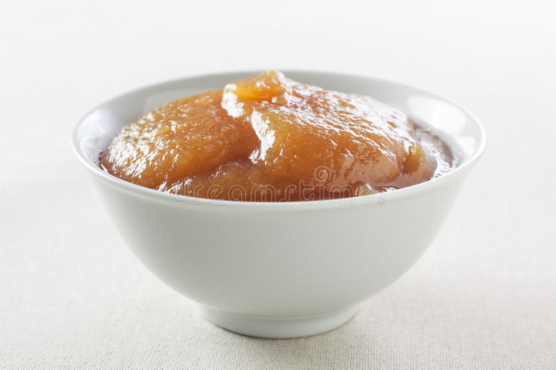 Homemade Apple Jam Royalty Free Stock Images