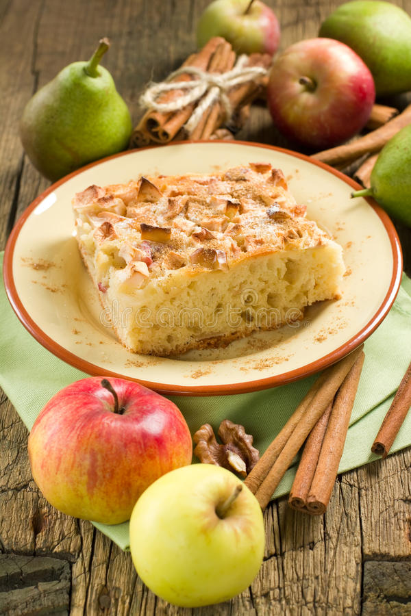 Download Homemade apple pie stock image. Image of cinnamon, focus - 26015411