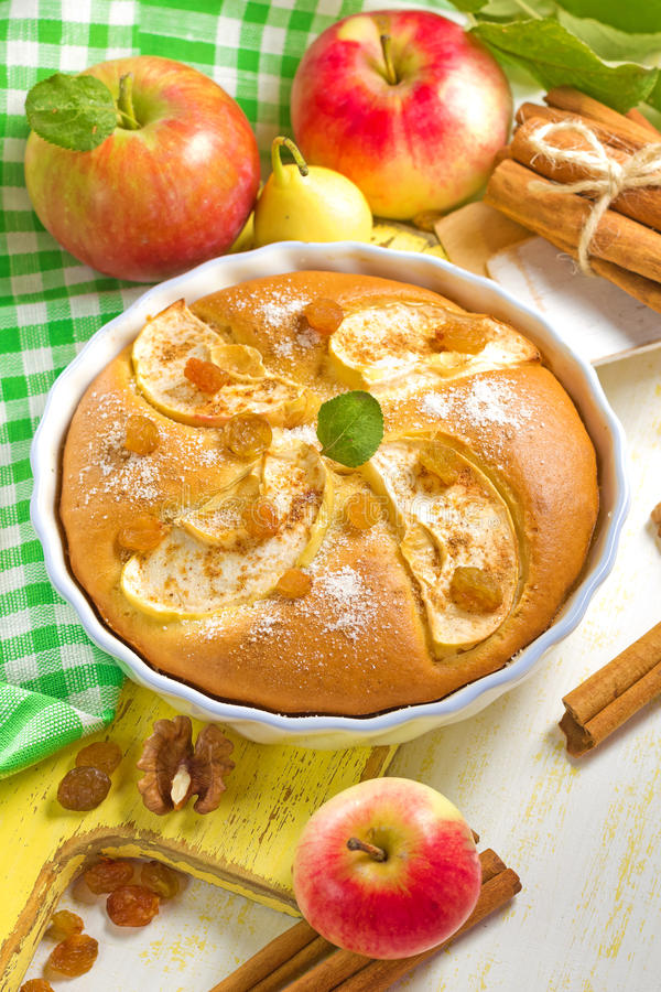 Download Homemade apple pie stock image. Image of nutrition, cinnamon - 26652331