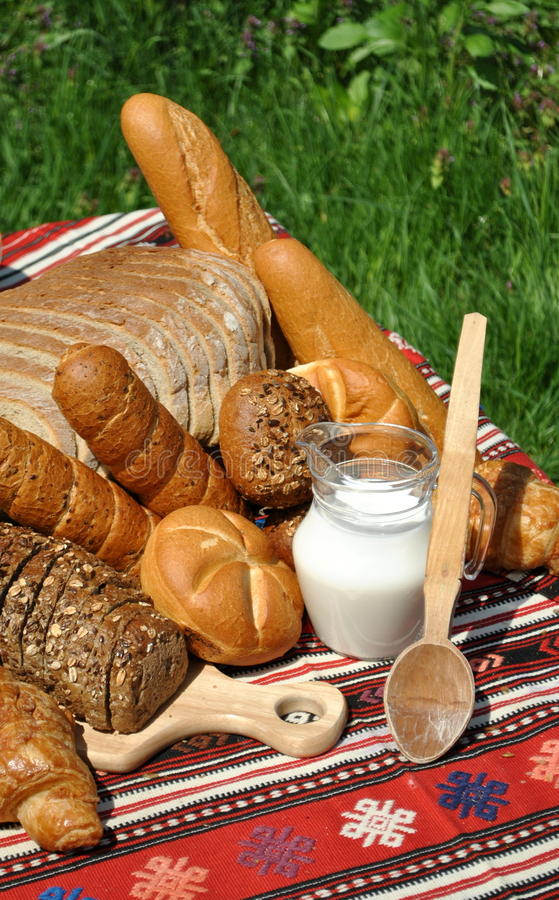 Homemade bakery. Image of some homemade bakery products stock photos