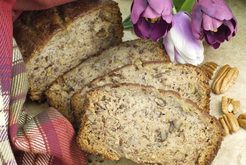 Download Homemade Banana Bread Closeup Stock Photo - Image: 12814618