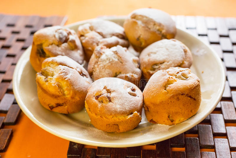 Download Homemade banana muffins stock image. Image of cooking - 31543499