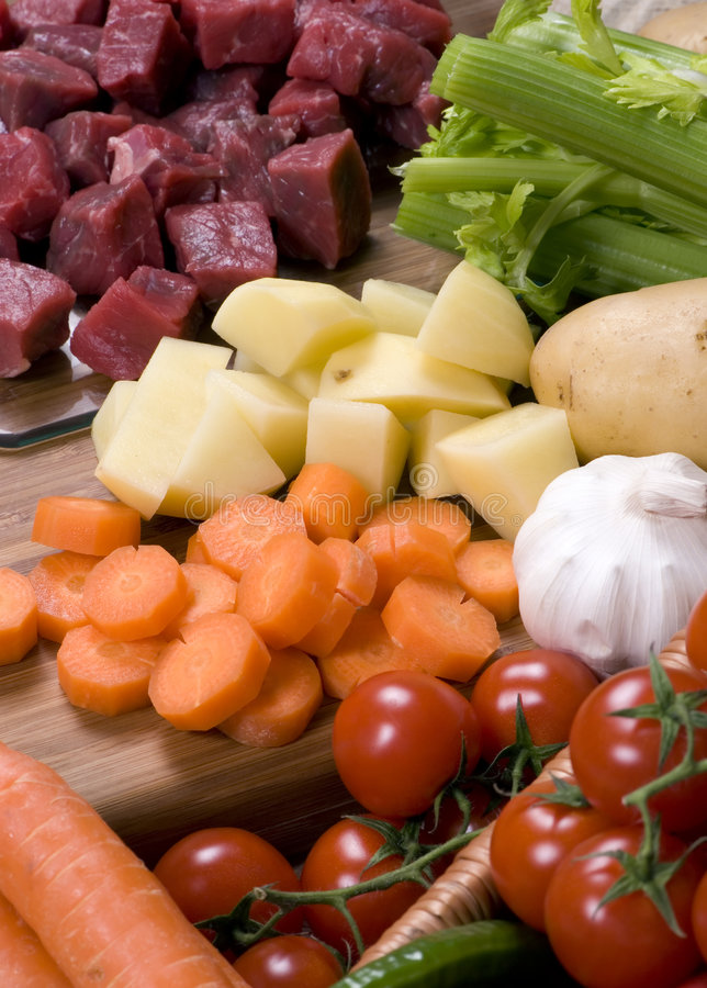 Download Homemade Beef Stew 003 stock photo. Image of cubed, garlic - 2076108