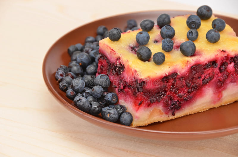 Download Homemade blueberry pie stock photo. Image of natural - 29030086