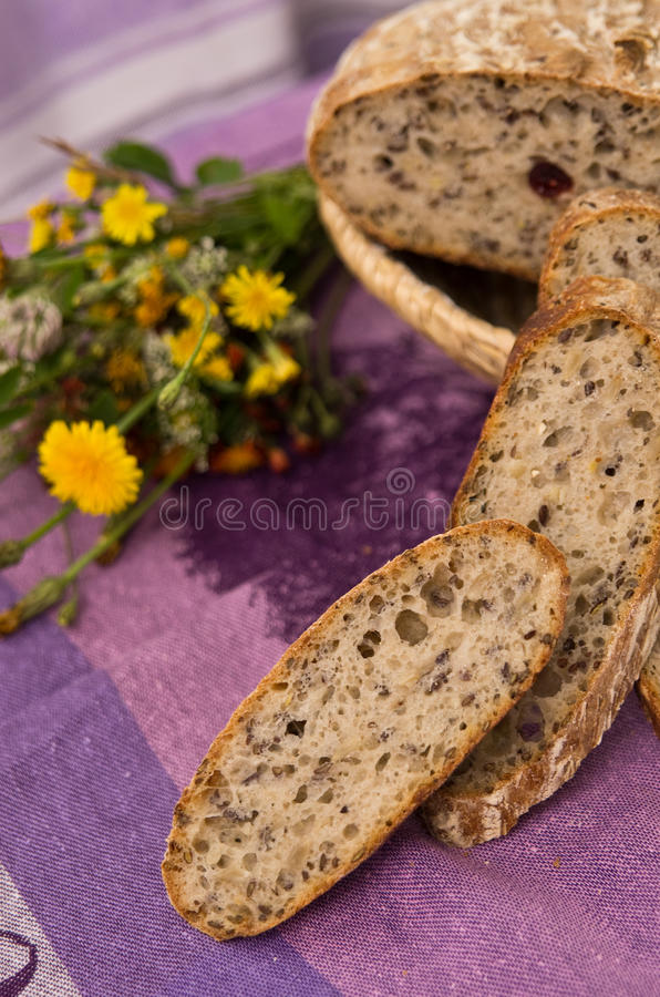 Download Homemade bread stock photo. Image of natural, nutritious - 25400628