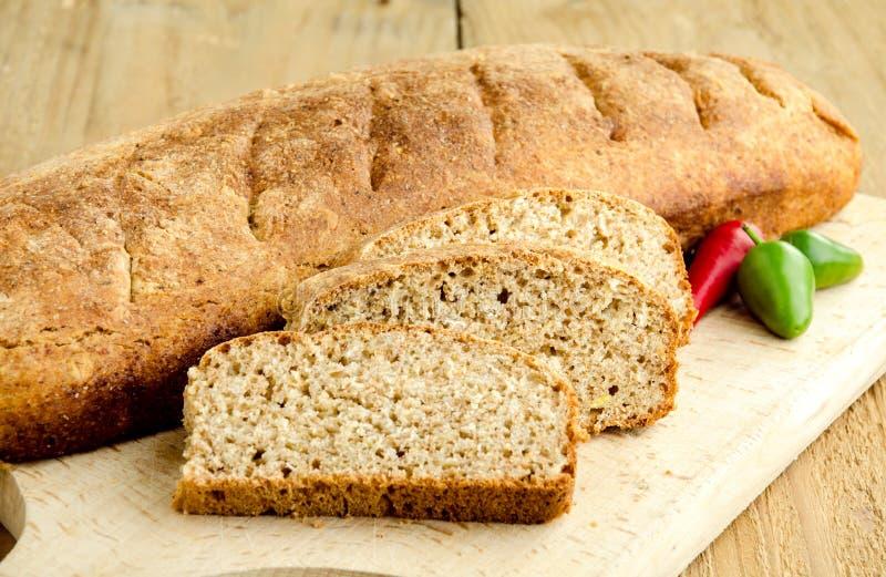 Homemade Brown Bread Royalty Free Stock Photos
