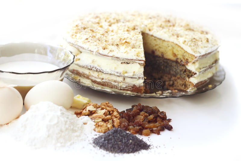 Download Homemade cake stock photo. Image of food, holiday, butter - 20922746