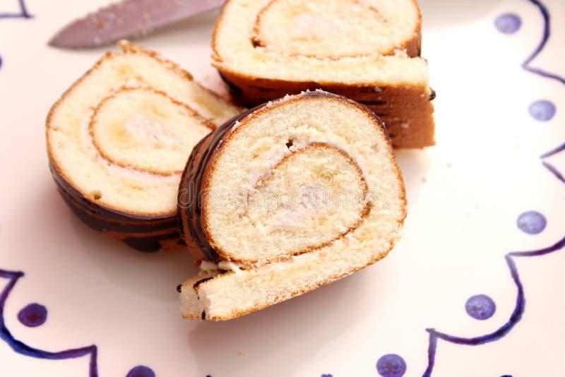 Homemade cake of wheat flour stock photography