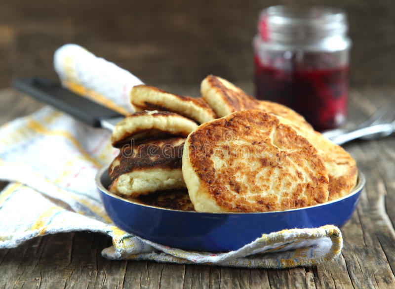 Download Homemade Cheese Pancakes Stock Image - Image: 33727911