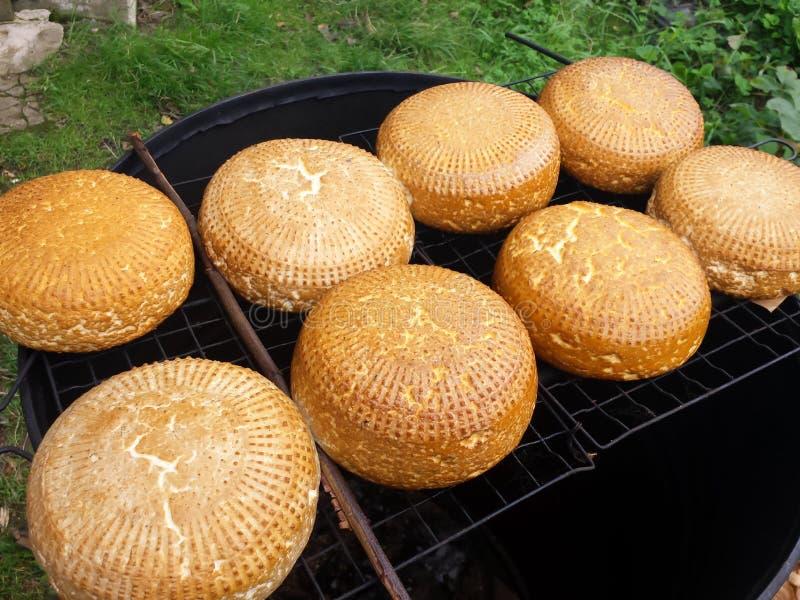 Homemade cheese royalty free stock photos