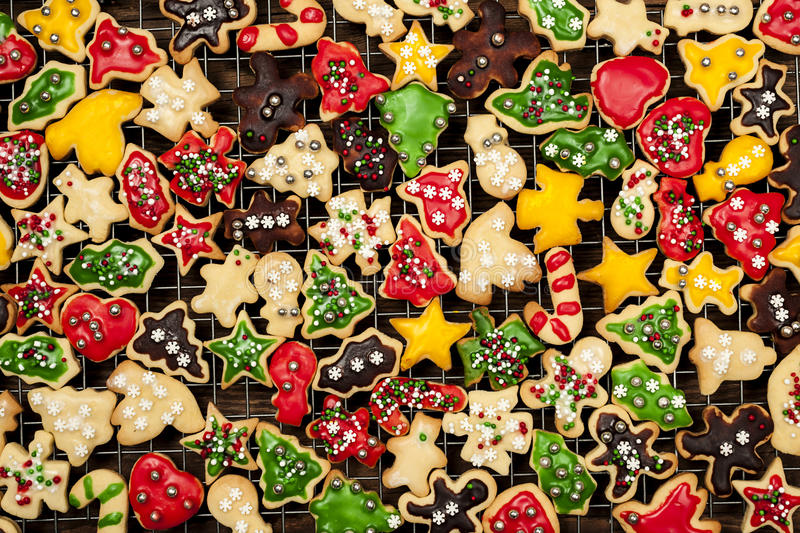 Download Homemade Christmas cookies stock image. Image of bakery - 29677629