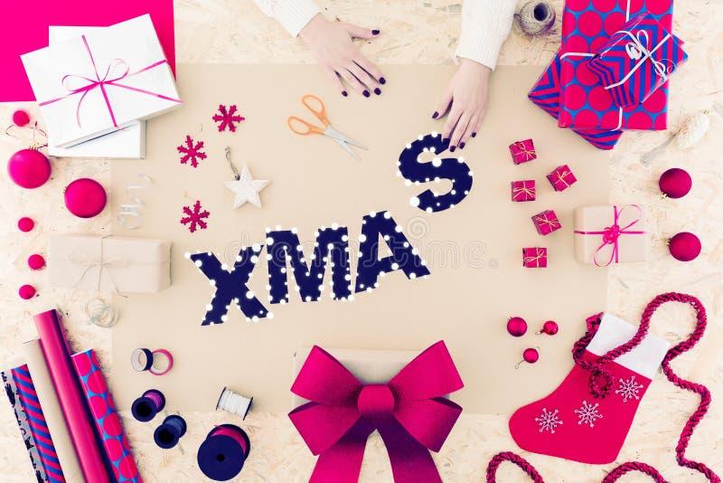 Homemade christmas ornament crafts. Photo of sparkle color homemade christmas ornament crafts stock photos