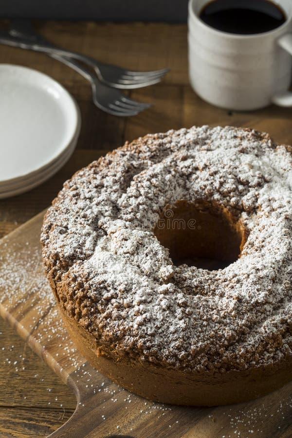 Homemade Cinnamon Coffee Cake royalty free stock images