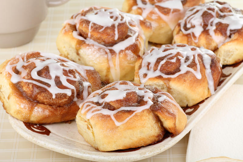 Download Homemade Cinnamon Rolls stock image. Image of homemade - 28843587