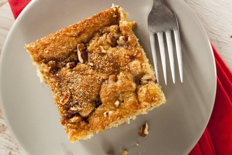 Homemade Coffee Cake with Cinnamon stock photos