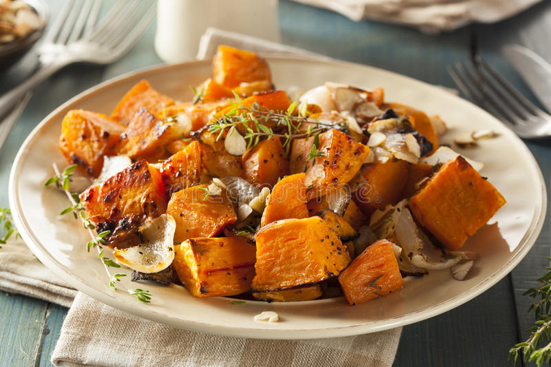 Homemade Cooked Sweet Potato royalty free stock photography