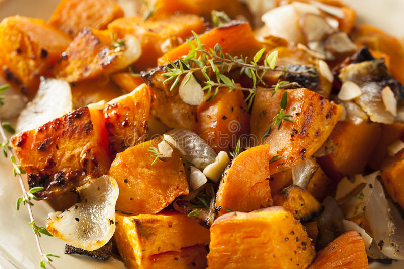 Homemade Cooked Sweet Potato royalty free stock photo